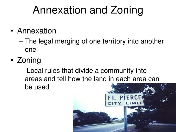 Annexation and Zoning