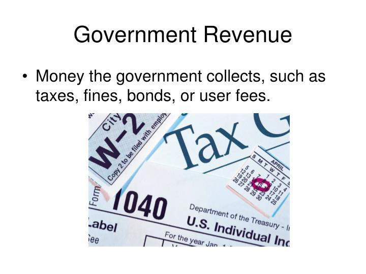 Government Revenue