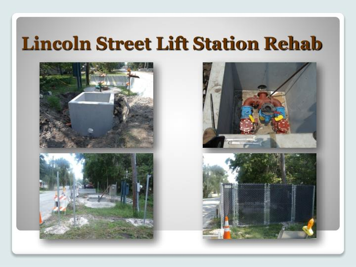 Lincoln Street Lift Station Rehab