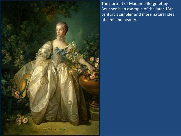 The portrait of Madame