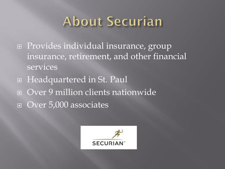 About securian