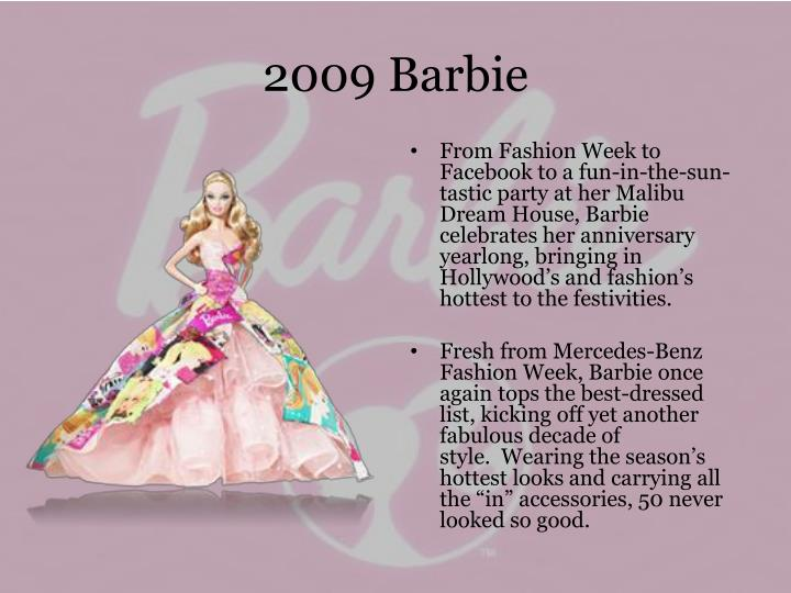 2009 Barbie