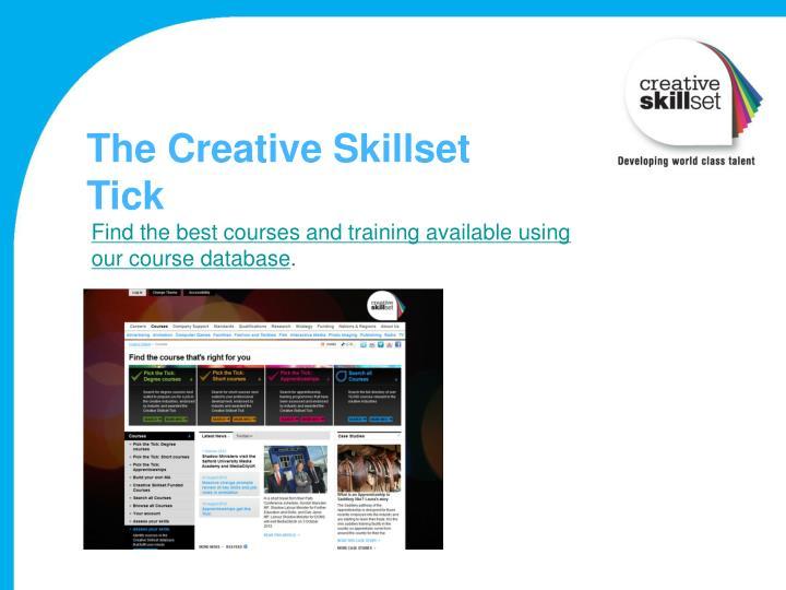 The Creative Skillset