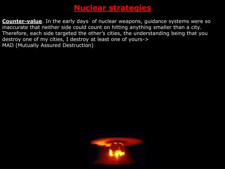 Nuclear strategies