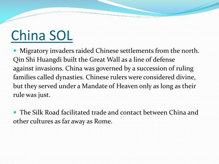 China SOL