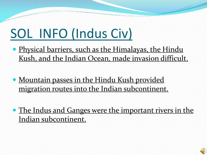 SOL  INFO (Indus