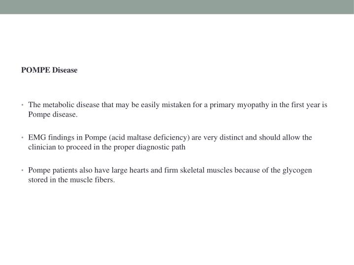 POMPE Disease