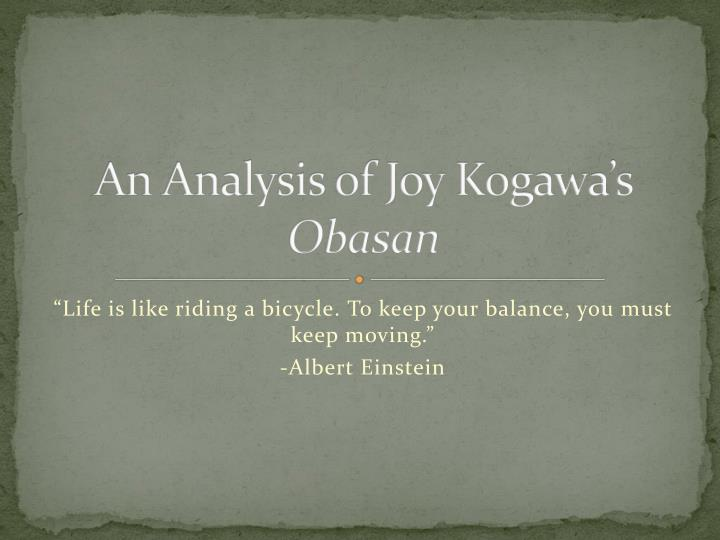 racial prejudice and injustice in the book obasan by joy kogawa