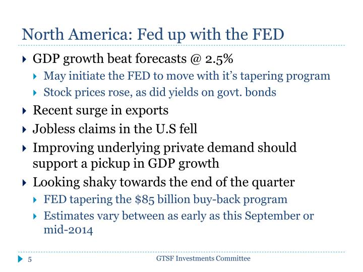 North America: Fed up with the FED
