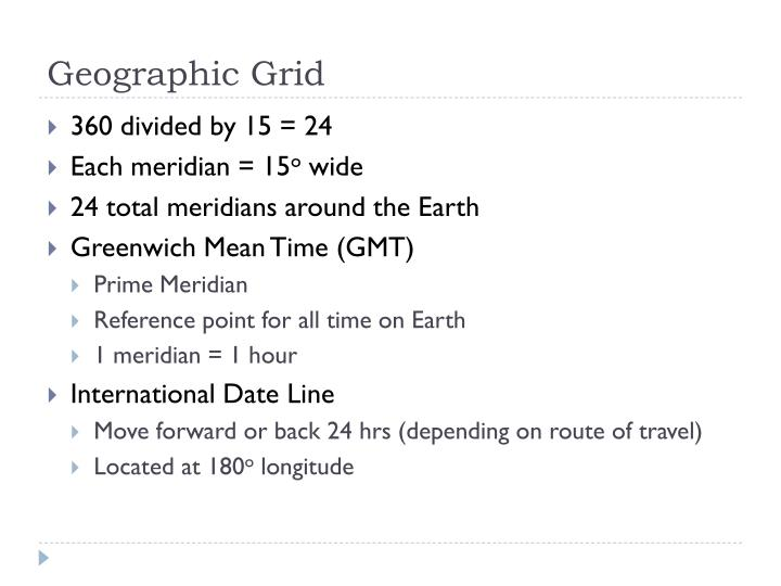 Geographic Grid
