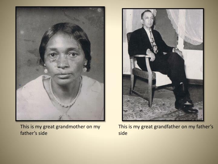 This is my great grandmother on my father's side