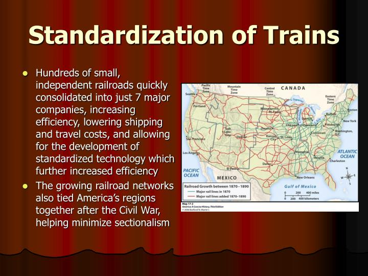 Standardization of Trains