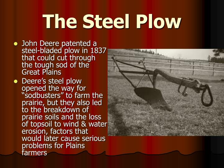The Steel Plow