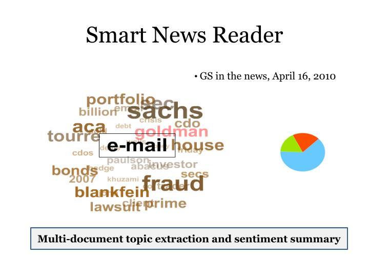 Smart News Reader