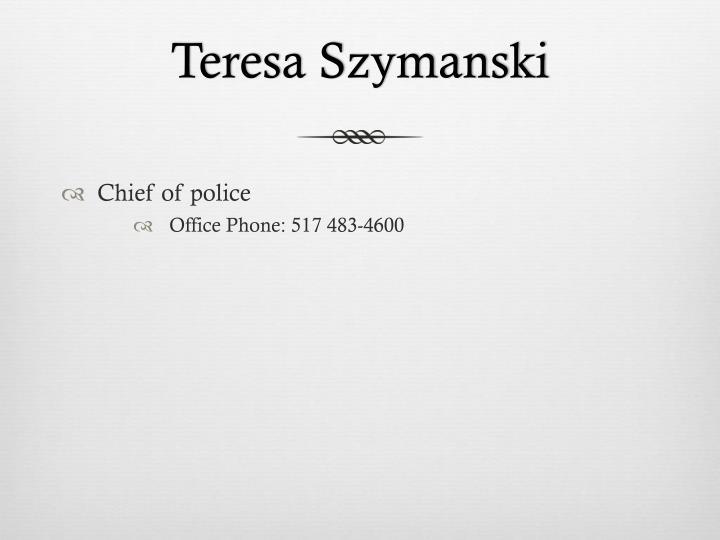 Teresa Szymanski