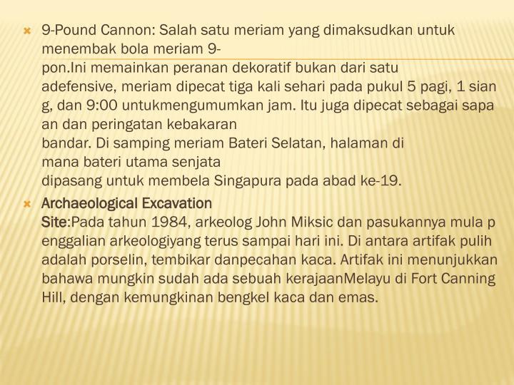 9-PoundCannon: