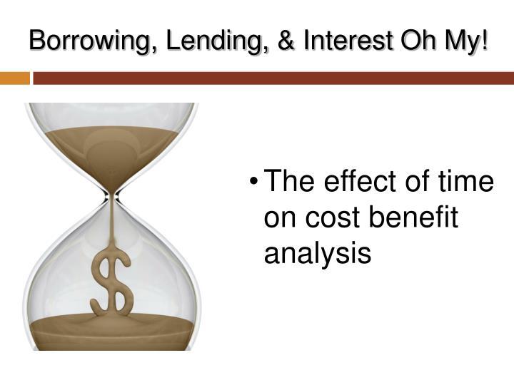 Borrowing, Lending,