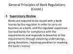 general principles of bank regulations contd1