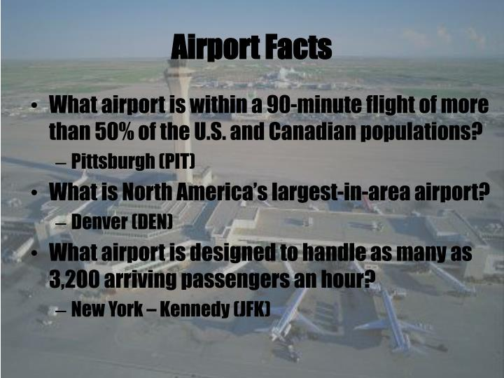 Airport Facts