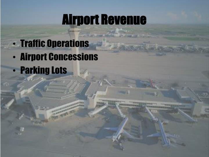 Airport Revenue