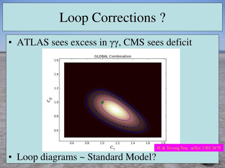Loop Corrections ?