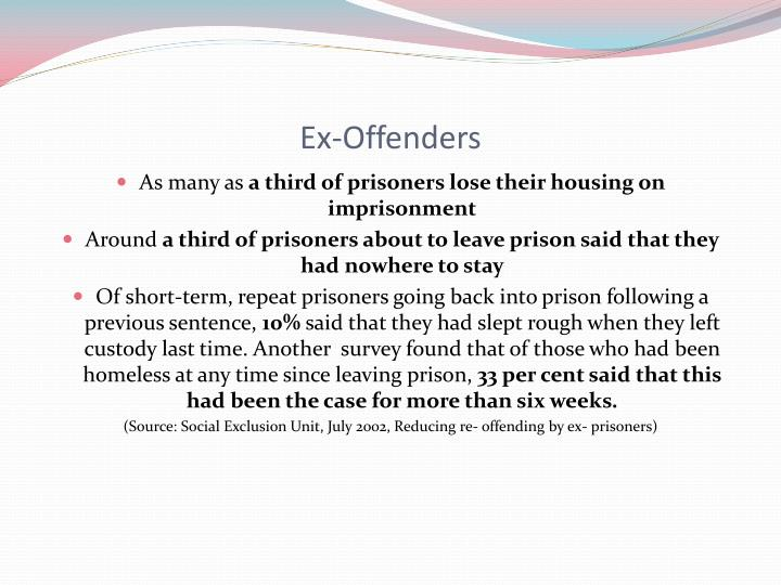 Ex-Offenders