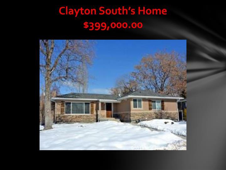 Clayton South's