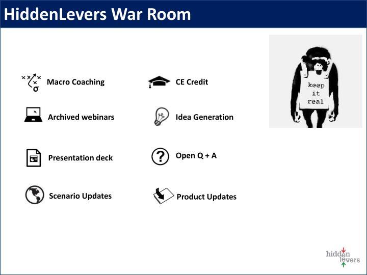 HiddenLevers War Room