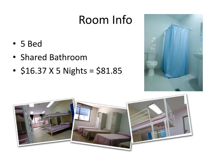 Room Info