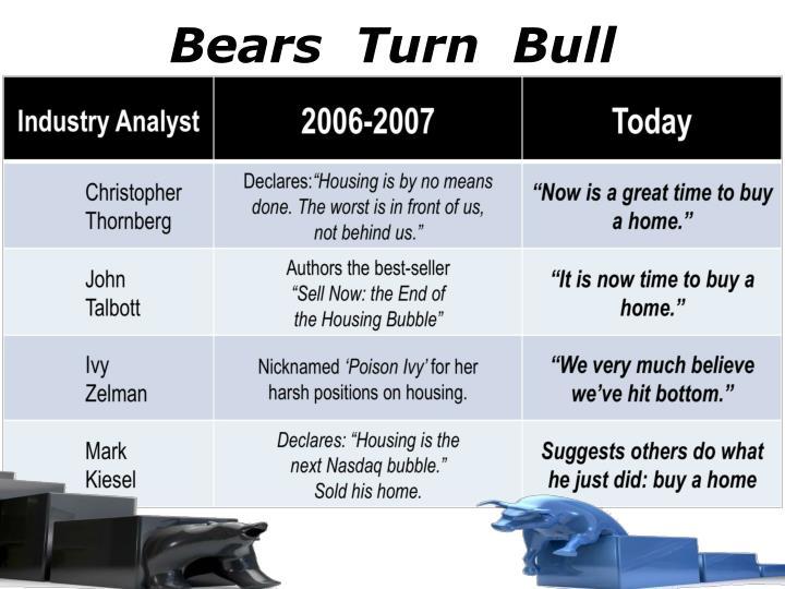 Bears  Turn  Bull
