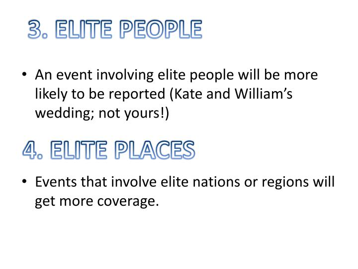 3. ELITE PEOPLE