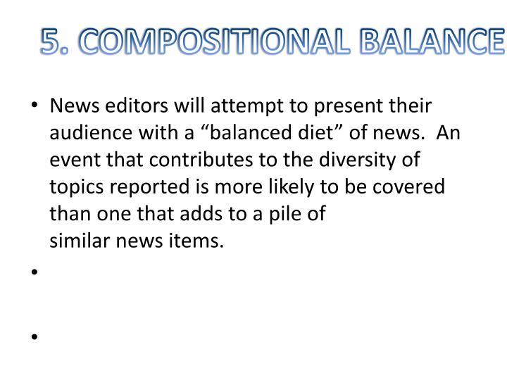 5. COMPOSITIONAL BALANCE