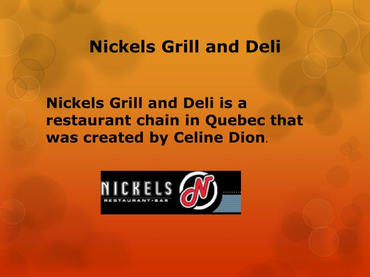Nickels Grill and Deli