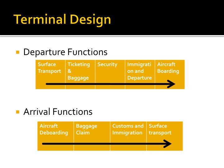 Terminal Design