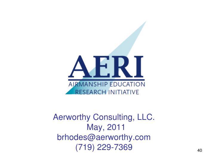 Aerworthy Consulting, LLC.