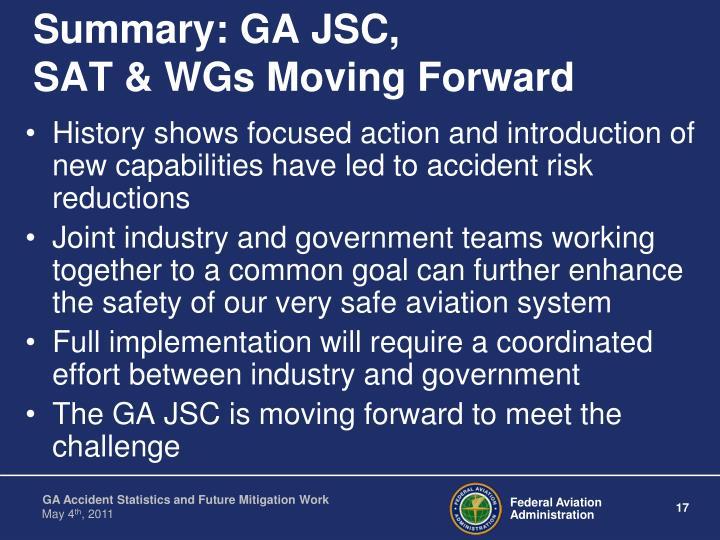 Summary: GA JSC,