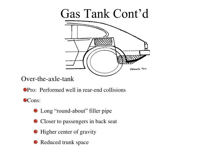 Gas Tank Cont'd