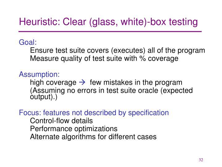 Heuristic: