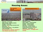 housing areas