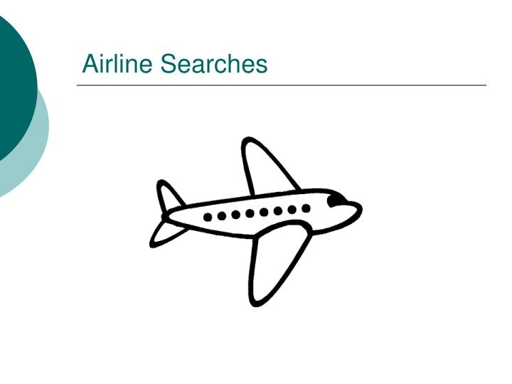 Airline Searches