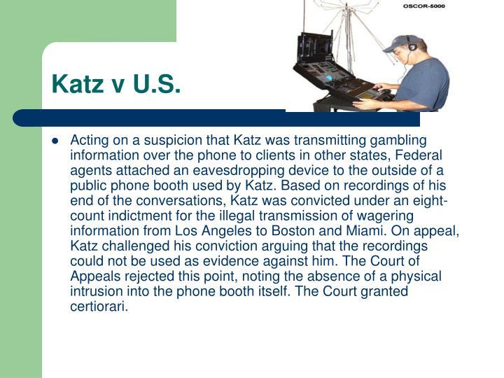 Katz v U.S.
