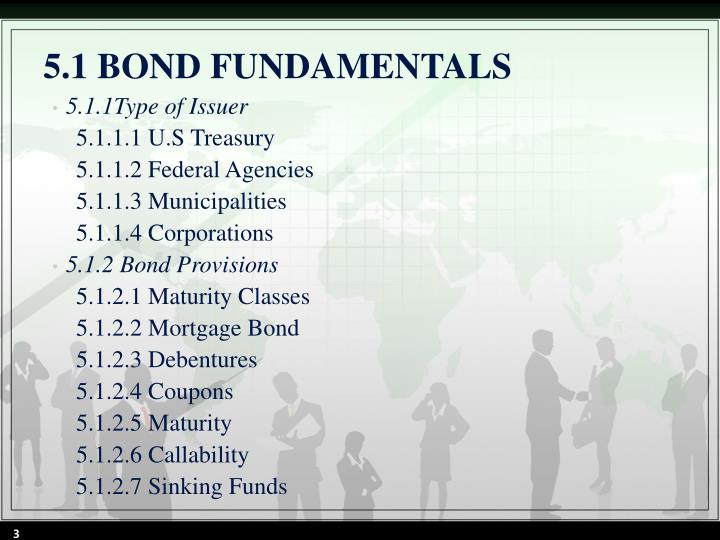 5 1 bond fundamentals