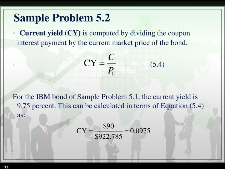 Sample Problem 5.2