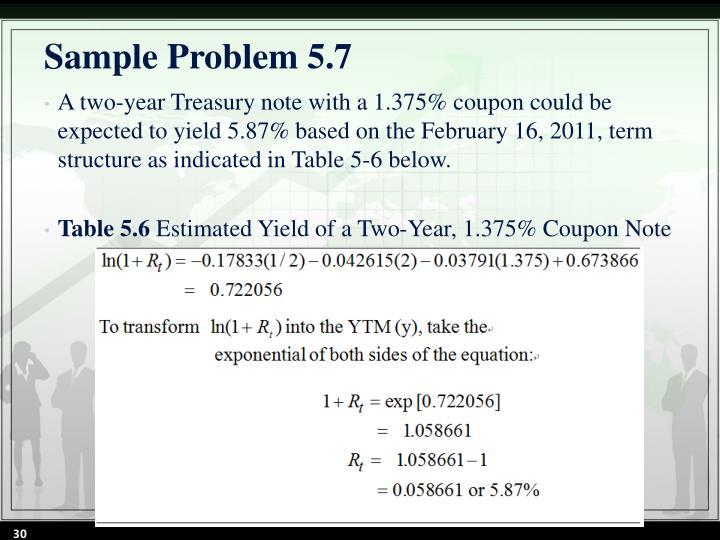 Sample Problem 5.7