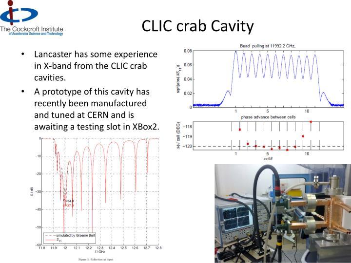 CLIC crab Cavity
