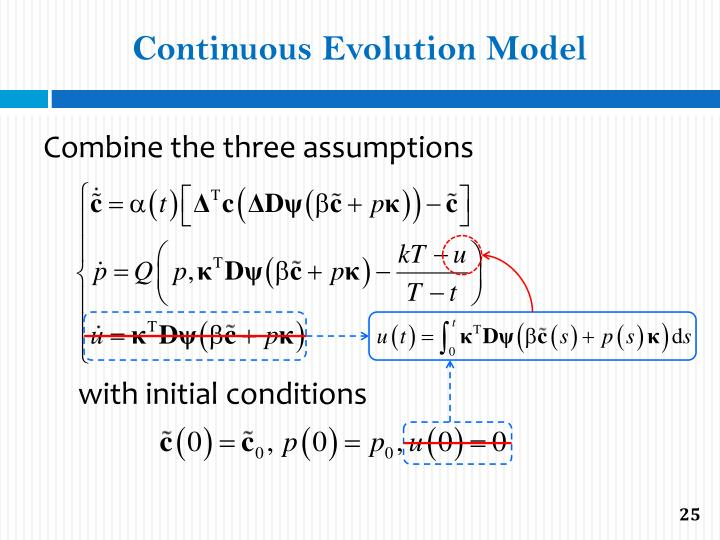 Continuous Evolution Model
