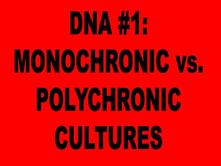 DNA #1: