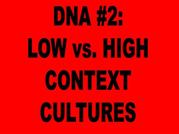 DNA #2: