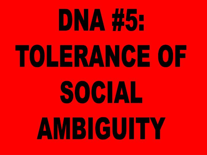 DNA #5: