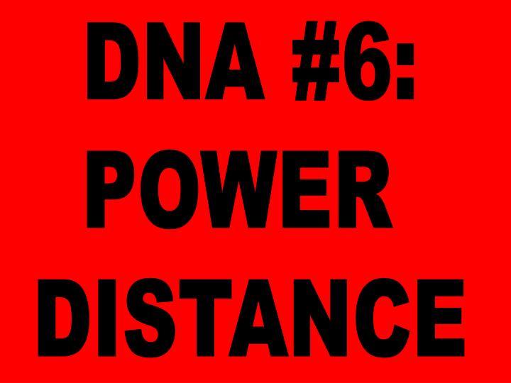 DNA #6: